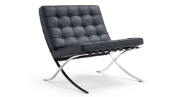 Кресло «BARCELONA CHAIR» чёрный