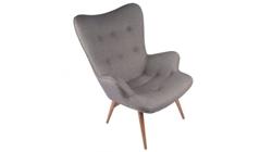 Кресло «CONTOUR» серое