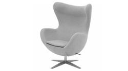 Кресло «EGG CHAIR» светло-серый