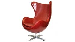 Кресло «EGG CHAIR» красный/глянец