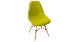 Стул Eames DSW textile темно-зеленый