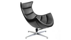 Кресло «LOBSTER CHAIR»» черный/матовый