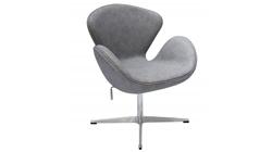 Кресло «SWAN CHAIR» светло-серый