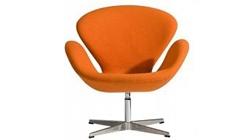 Кресло «SWAN CHAIR» оранжевый