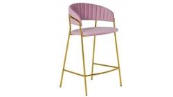Барный стул Turin пудровый