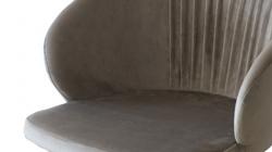 Verona Round вращающийся табачно-серый